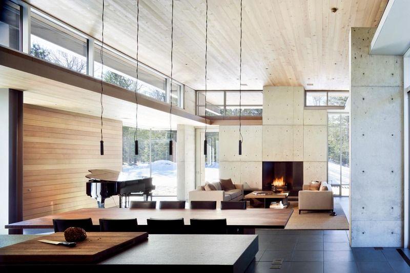 Olson Kundig Architects   Projects   Northwoods House