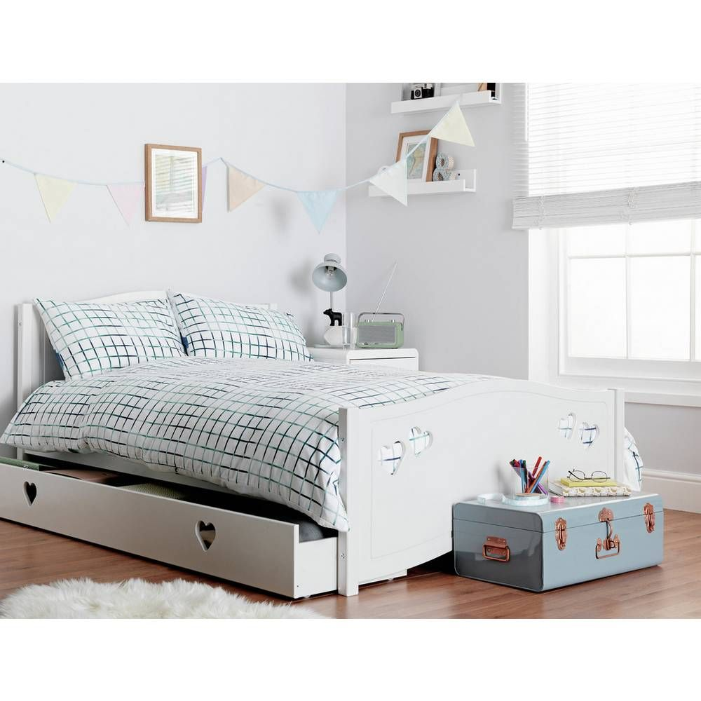 Buy Argos Home Mia White Small Double Bed, Drawer &Kids