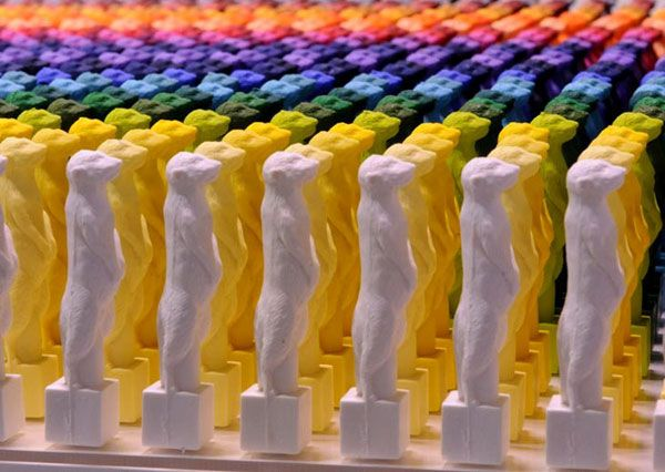 Plastic Sculptures by Ryo Shimura