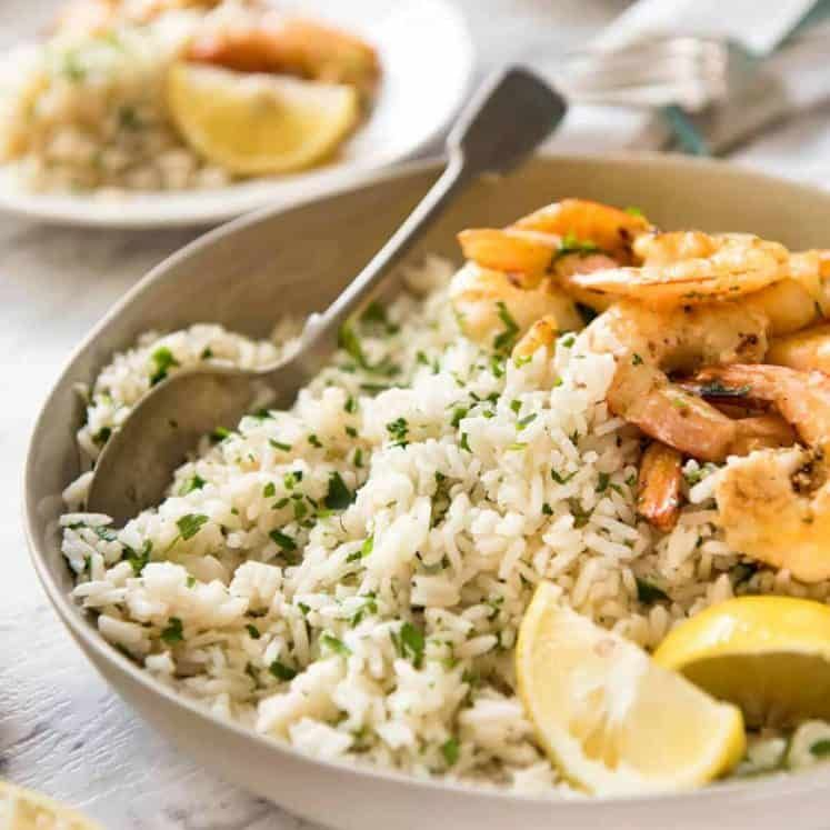 Lemon Rice Pilaf #greeklemonrice