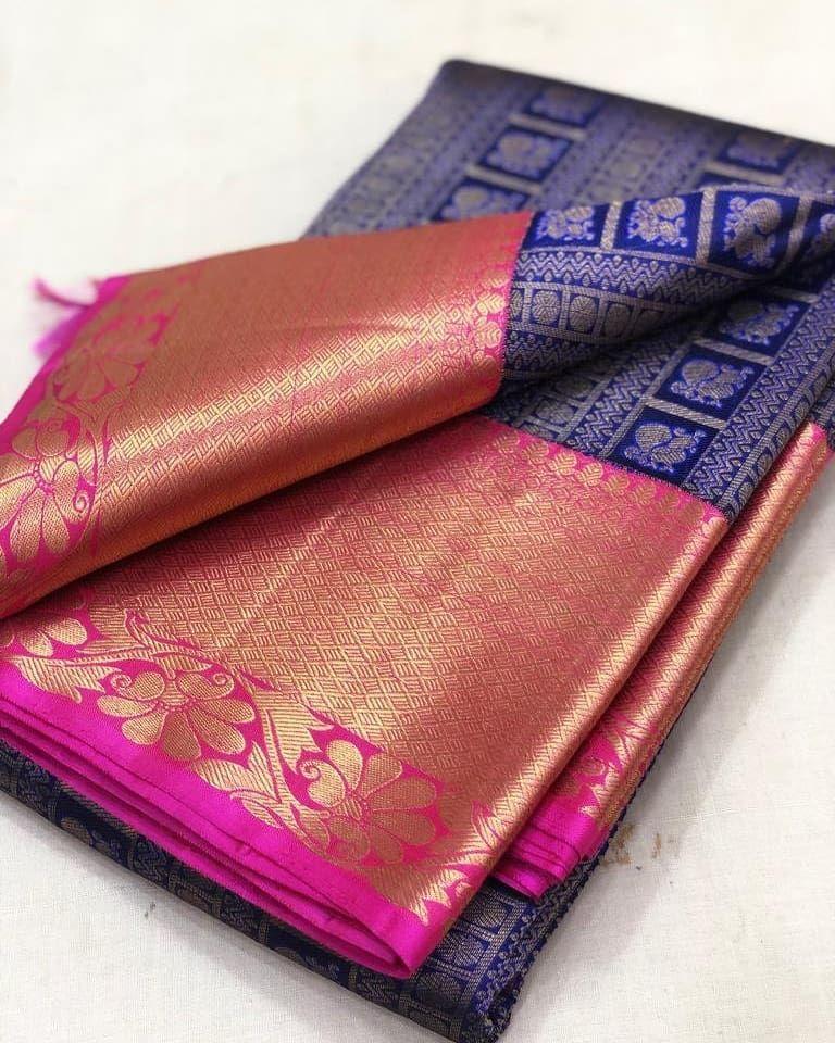 "Photo of KANJIVARAMS on Instagram: ""Pure Handloom Gold zari kanjivaram silk sarees  Pl contact us at +918056477235/whatsapp for orders and details We accept online…"""