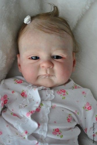 Cute Reborn Baby Doll Soft Silicone 18 Inch Handmade Baby: Reborn Babies