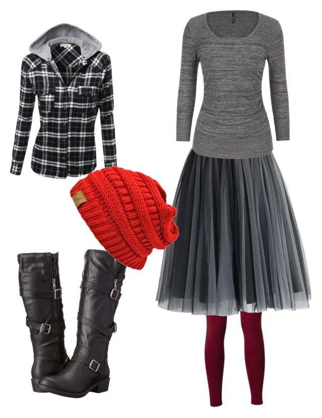 """""""Ready for Winter:)"""" by scottishraven on Polyvore featuring Jellypop, Chicwish and maurices"""