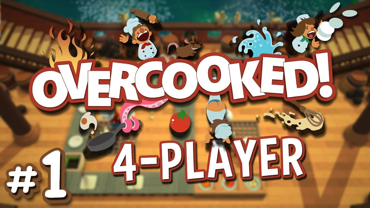 Overcooked 1 Save the World with Cooking!! (4 Player