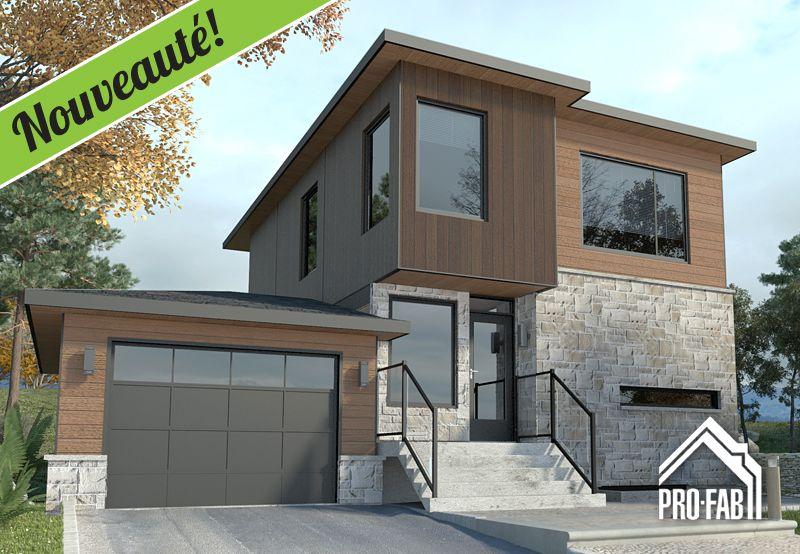 Pro-Fab Constructeur de maisons modulaires, usinées, préfabriquées - Plan Maison Sweet Home 3d