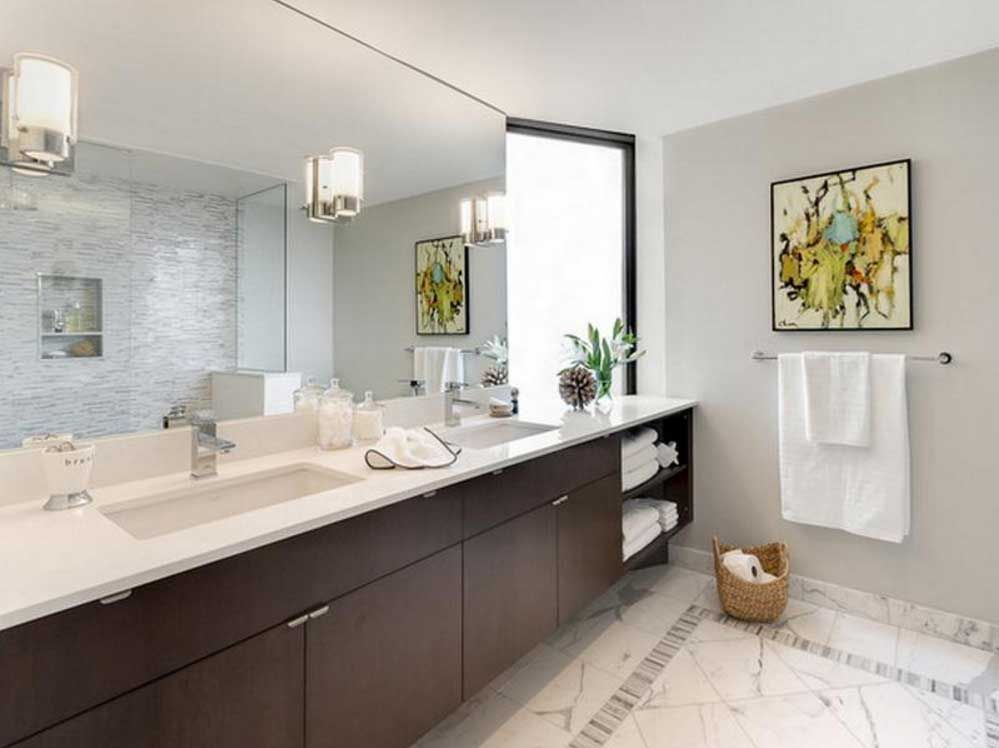 Large Bathroom Mirrors Mirror Wall Bathroom Mirror Wall Bedroom