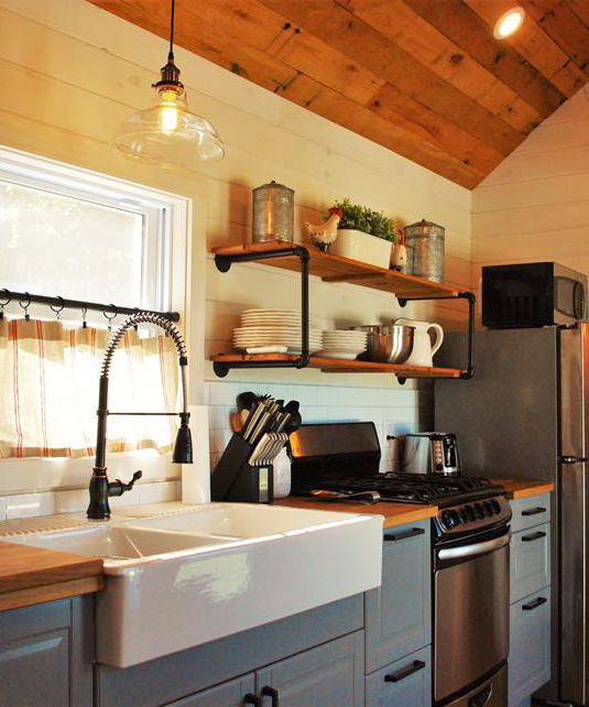 Photo of Modern Farmhouse Take Three by Liberation Tiny Homes – Tiny Living