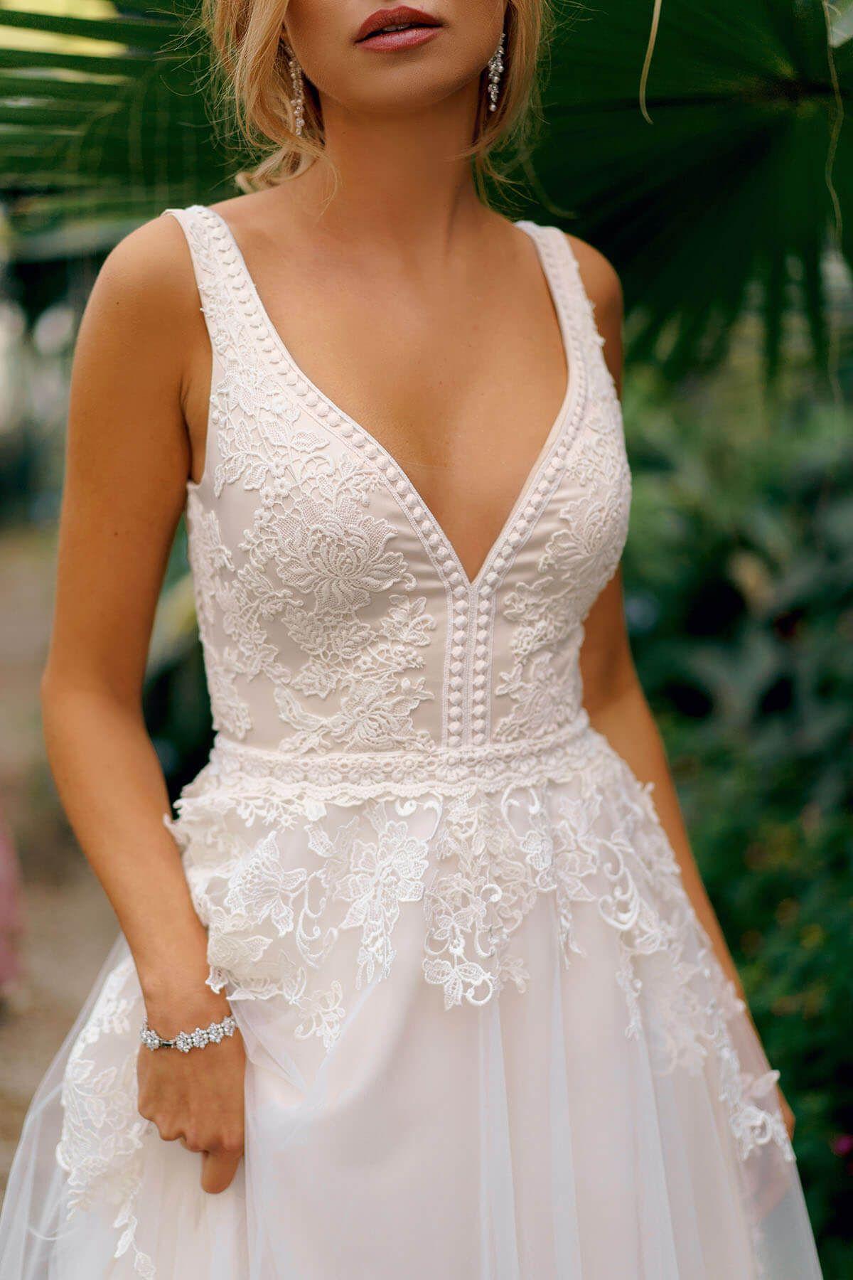 Goplana Dama Couture Wedding Dresses Sleeveless Wedding Dress Dresses