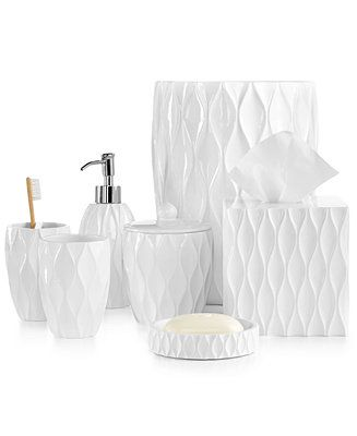 Photo of Roselli Trading Company Roselli Trading Wave Bath Accessories Collection & Reviews – Bathroom Accessories – Bed & Bath – Macy's