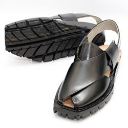 Fantastic Quetta Double Sole Black Norozi Chappal Mens Leather Sandals Mens Summer Shoes Sandals