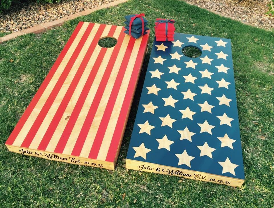 Wraps Racing Themed Checkered Flag Cornhole Board Prints Corn Hole