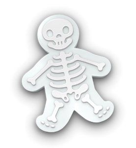 Fred and Friends Gingerdead Men Cookie Cutter/Stamps: Amazon.com: Kitchen & Dining