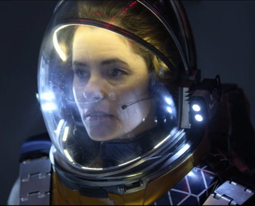 Dr Smith Parker Posey In The 2018 Tv Series Lost In Space