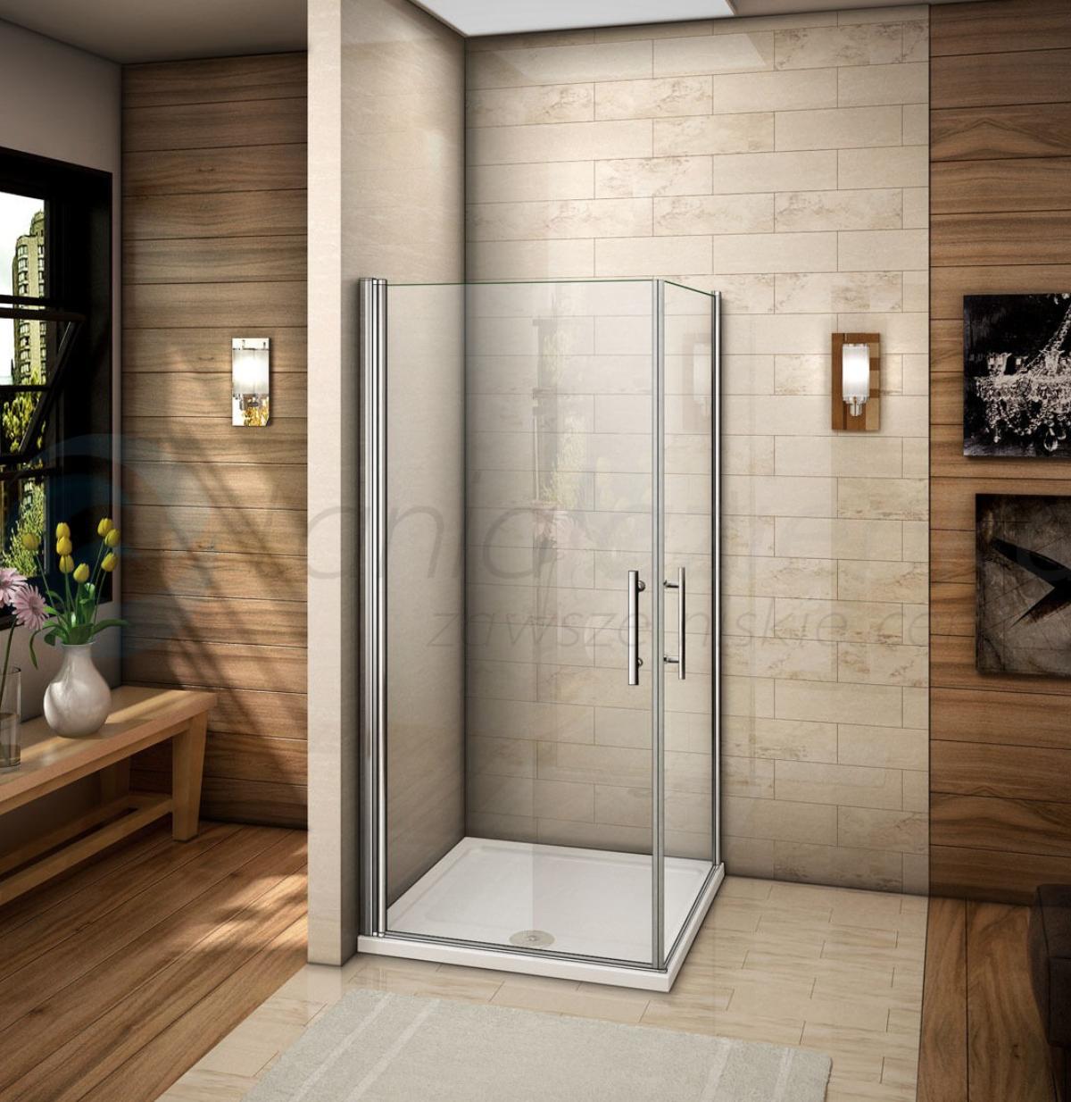 Vidre Kabina Prysznicowa Bezramowa Dorin 80x80 Walk In Shower Enclosures Shower Enclosure Dream Bathroom