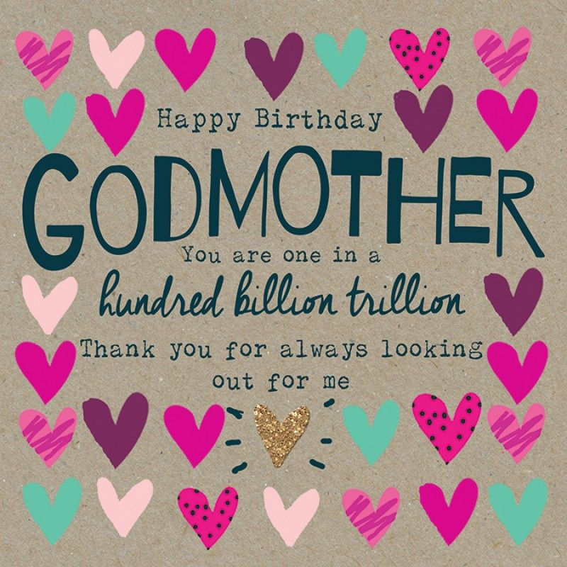 Birthday Godmother Happy Aunt Cards For Her Funny