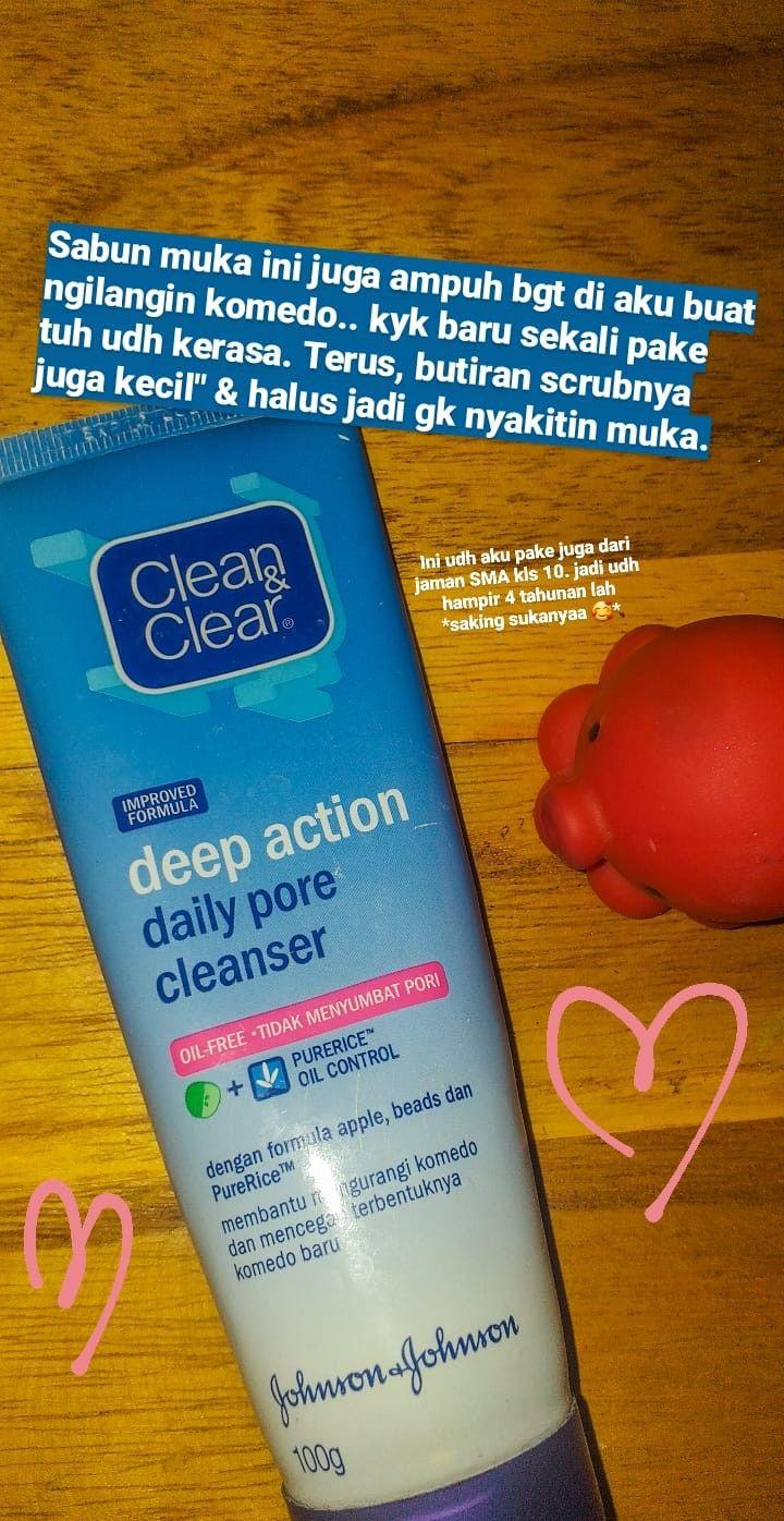 Sabun Clean And Clear Untuk Kulit Berminyak Dan Berjerawat