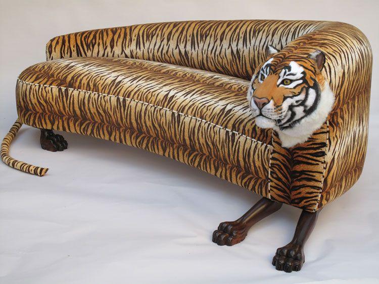Decorative Upholstered Wild Animal Sofa Tiger Ideas Ideas, Decorative  Upholstered Wild Animal Sofa Tiger Ideas Interior Design, Decorative  Upholstered Wild ...