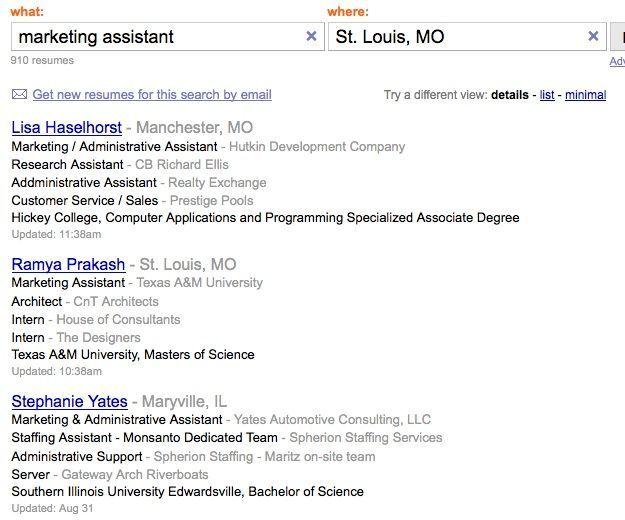 Resume Format Indeed Resume Templates Lebenslauf Anschreiben Template