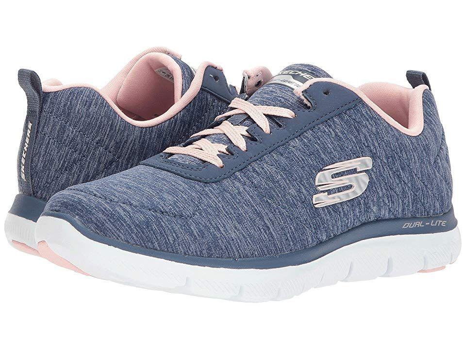 SKECHERS Flex Appeal 2.0 (Navy) Women's Shoes. Find next