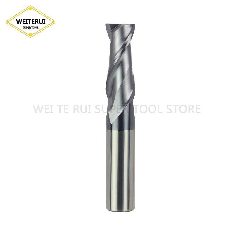 HRC50 Carbide 3 Flute 8mm Aluminum End Mill Cutter Tool For Aluminum Milling Hot