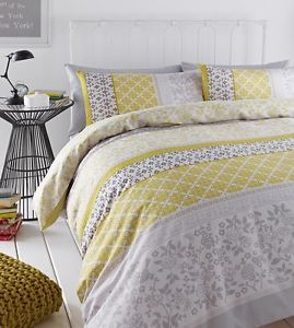 31++ Grey and mustard bedding trends