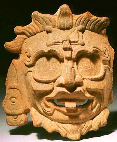 Kinich Ajau, sun god, in 22 ruler's - 45.3KB
