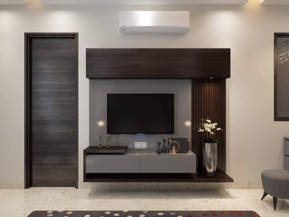 Pin By Mh Carera On Lemari Tv Tv Unit Furniture Tv Unit Decor Modern Tv Wall Units