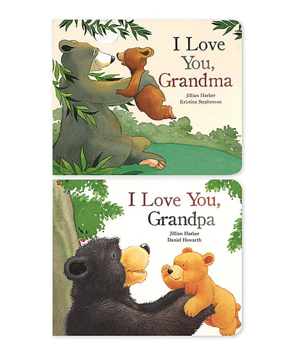 Look what I found on #zulily! I Love My Grandma & Grandpa Hardcover Set by Parragon #zulilyfinds