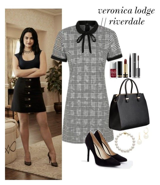 veronica lodge riverdale halloween by ohsnapitzblanca on polyvore featuring george justfab christian dior gucci mac cosmetics chanel