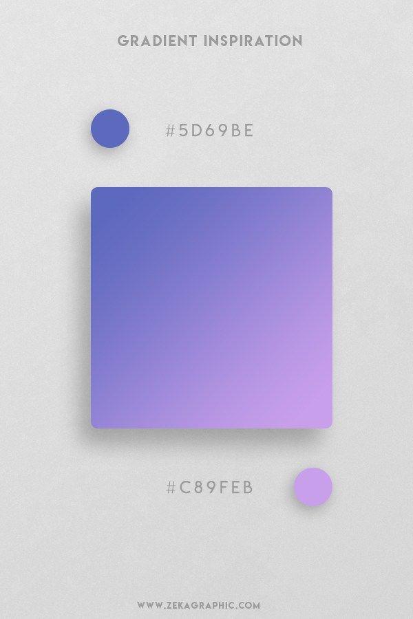 32 Beautiful Color Gradient Inspiration   ZEKA DESIGN