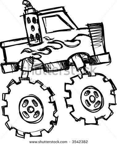 Monster Truck Drawings Images Google Search Monster Truck