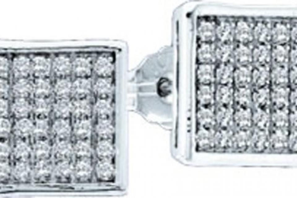 $461.50 - 0.85CTW ROUND DIAMOND LADIES MICRO PAVE EARRINGS.       Metal Type:  10KWG     Metal Weight (gms):  5.12 (approx.)      GD-42356    Visit our website at http://www.thesgdex.com  The Silver Gold & Diamond Exchange  WE BUY | SELL | TRADE | CONSIGN | AUCTION | APPRAISE