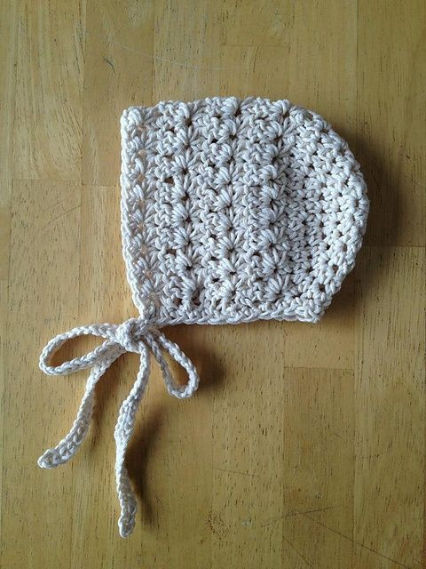 Vintage Star Baby Bonnet pattern by Crochet by Jennifer | Babymütze ...