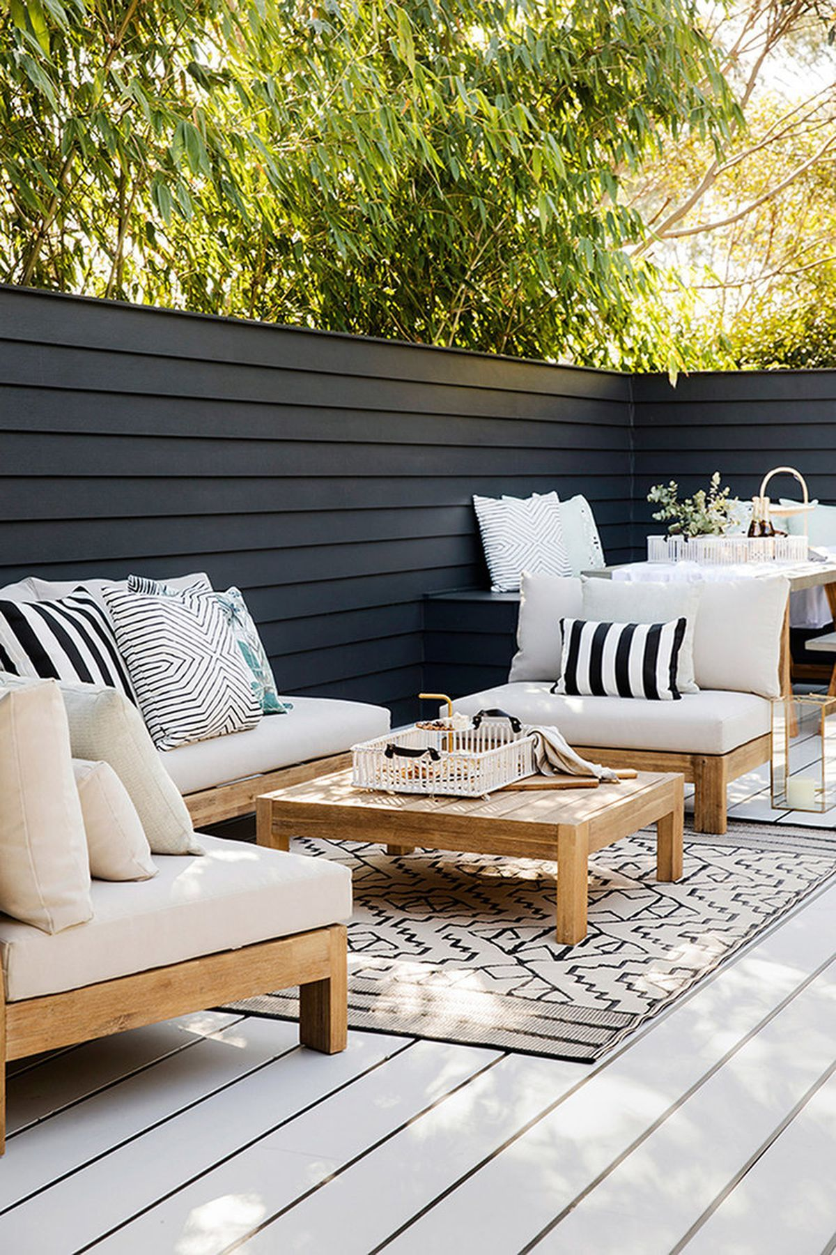 Seven Home Design Trends Set To Be Big In 2019 9homes Outdoor Rooms Outdoor Furniture Ideas Backyards Outdoor Living Space