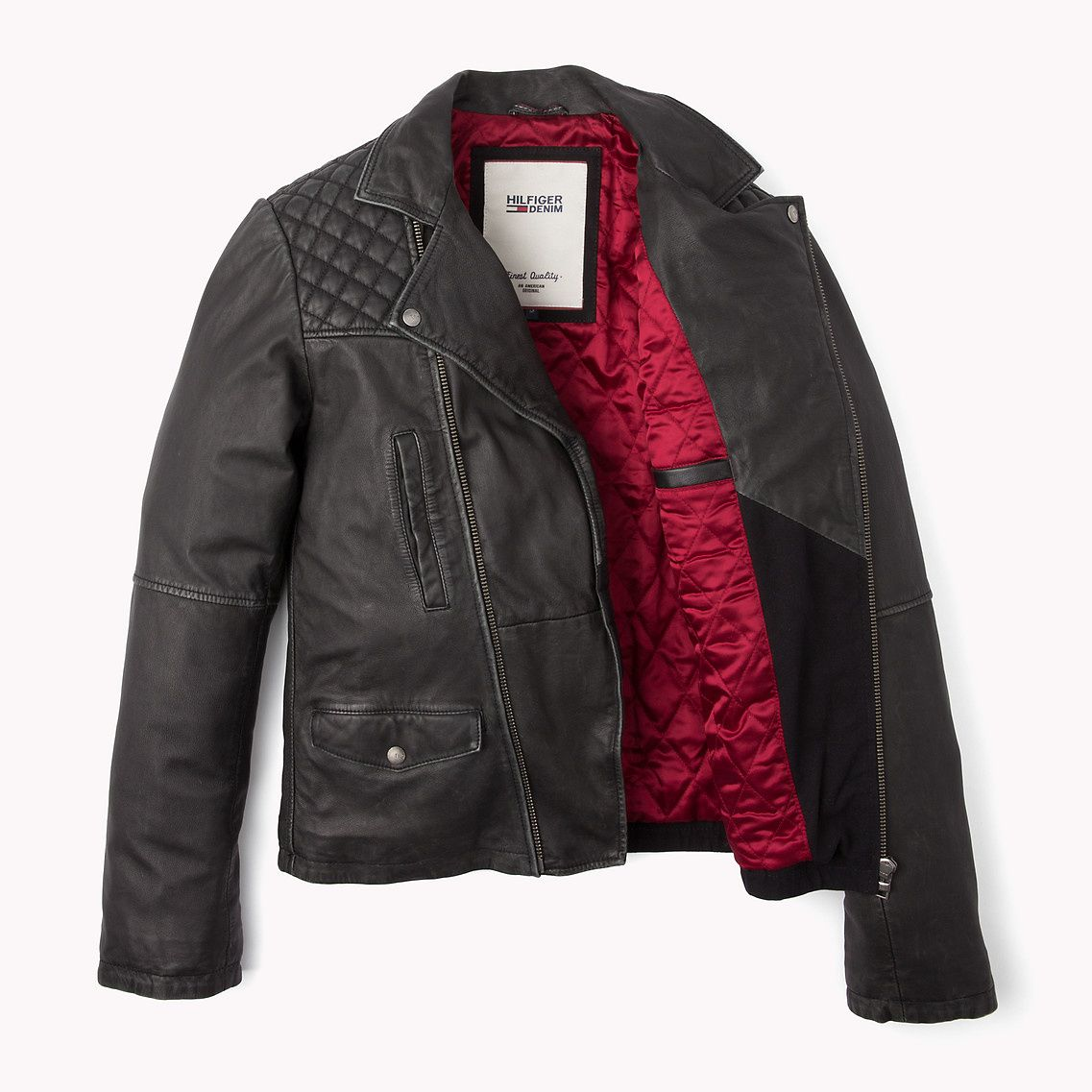 Josh Leather Jacket Tommy Hilfiger Leather jacket