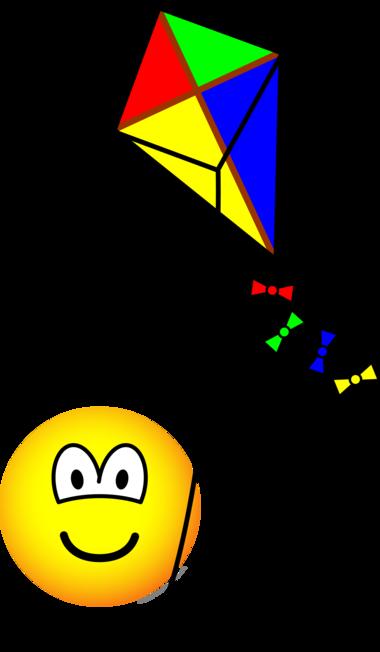 Výsledek obrázku pro smileys with kite