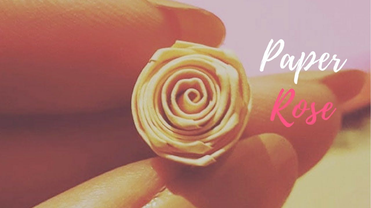 Diy How To Make Quilling Rose Flowers Paper Quilling Rose Https
