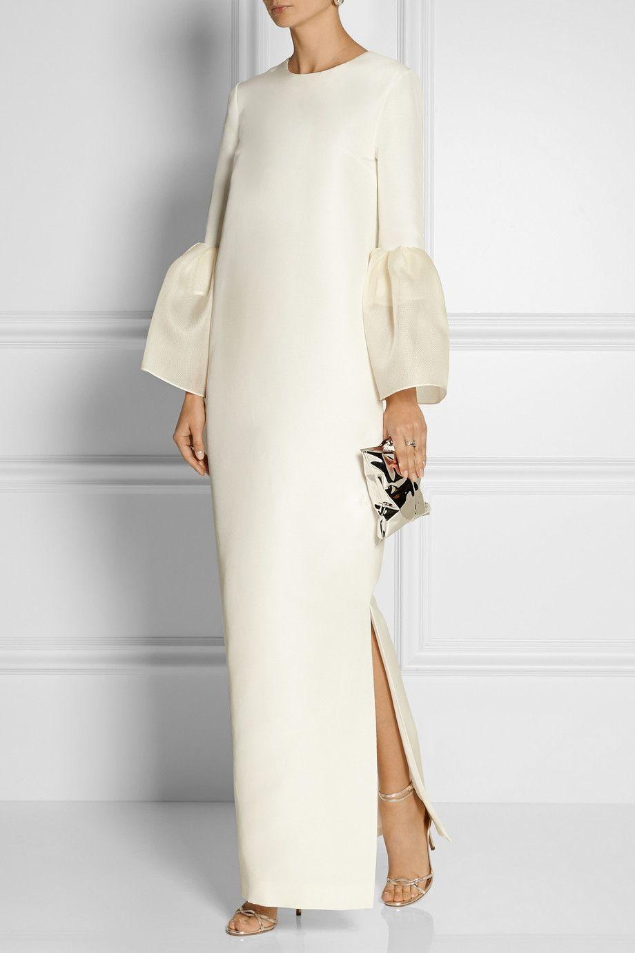 Roksanda Dubois silk and cotton-blend gown NET-A-PORTER.COM