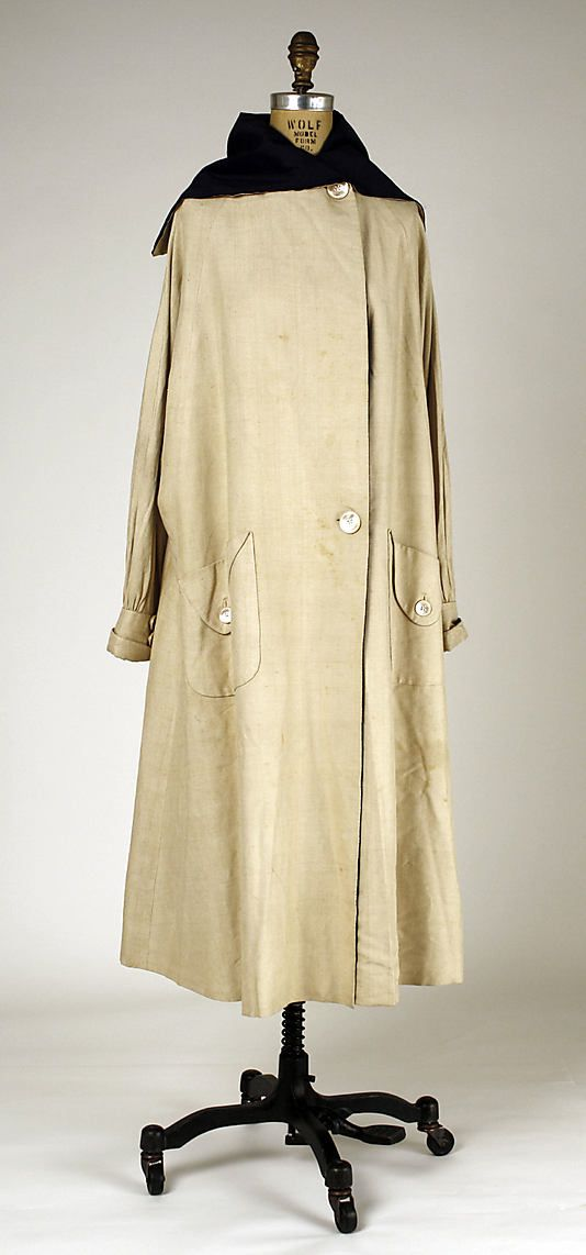 Coat (Duster)  Révillon Frères  (French, founded 1723)