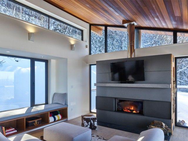 Un chalet contemporain tout en légèreté Interior design