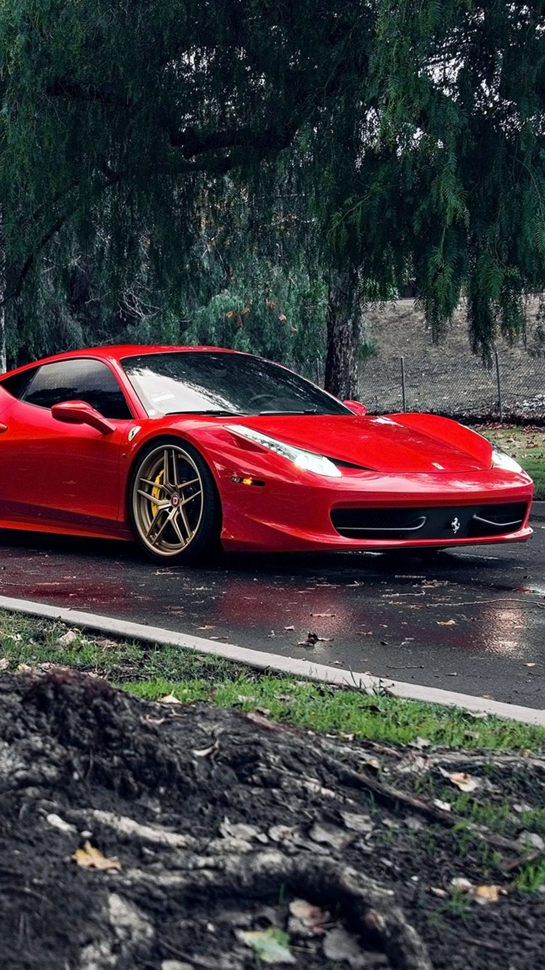 72c61638e673 Vehicles Ferrari 458 Italia Ferrari Ferrari 458 Car Red Car Supercar Mobile  Wallpaper