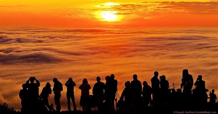 Acadia Magic - Cadillac Mountain at sunset