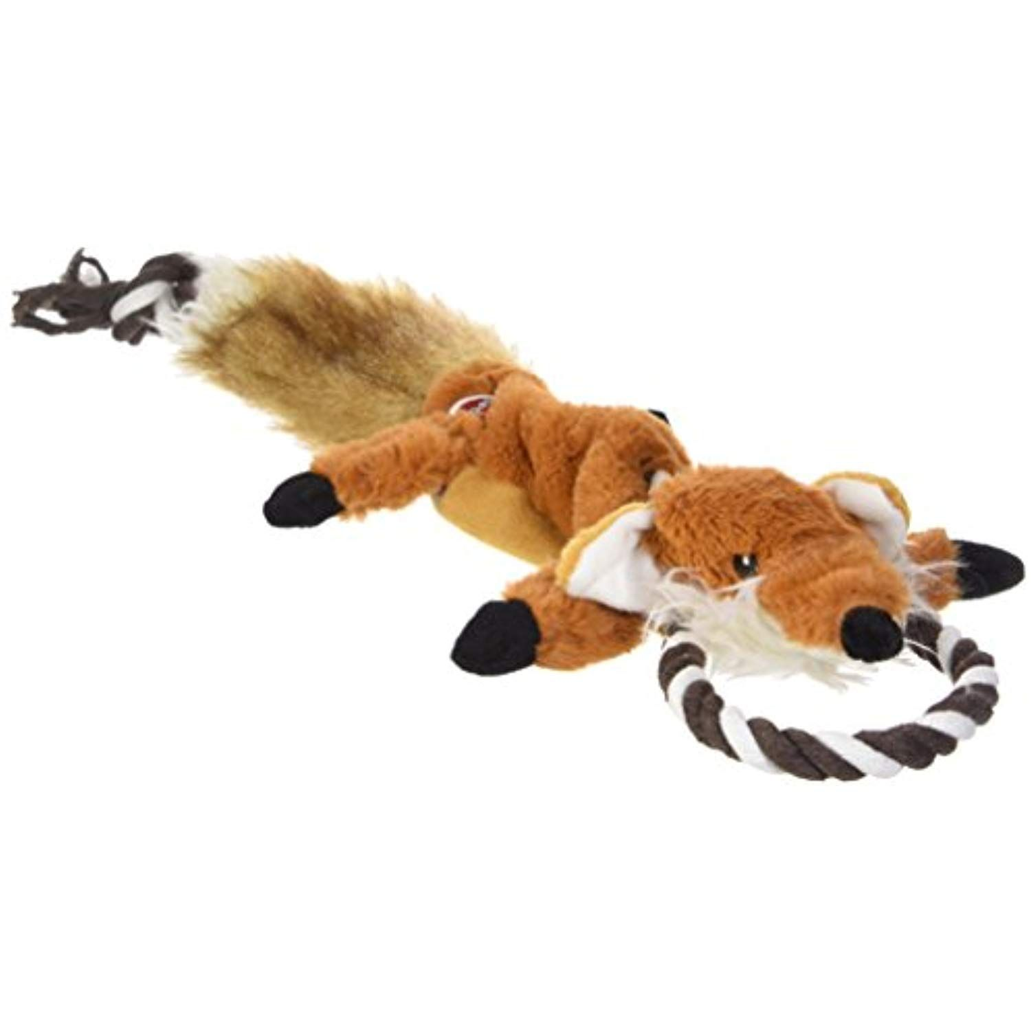 Ethical Pets Forest Fox Skinneeez Tugs Stuffingless Dog Toy 23