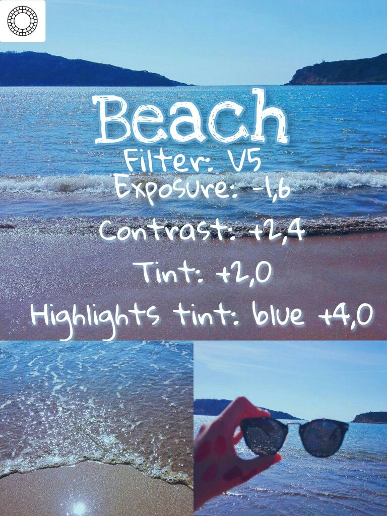 Summer filter #summer #vsco #vscocam #filter #beach