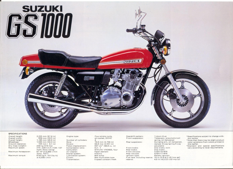 1978 Suzuki Gs1000ec Suzuki Motorcycle Suzuki Cafe Racer
