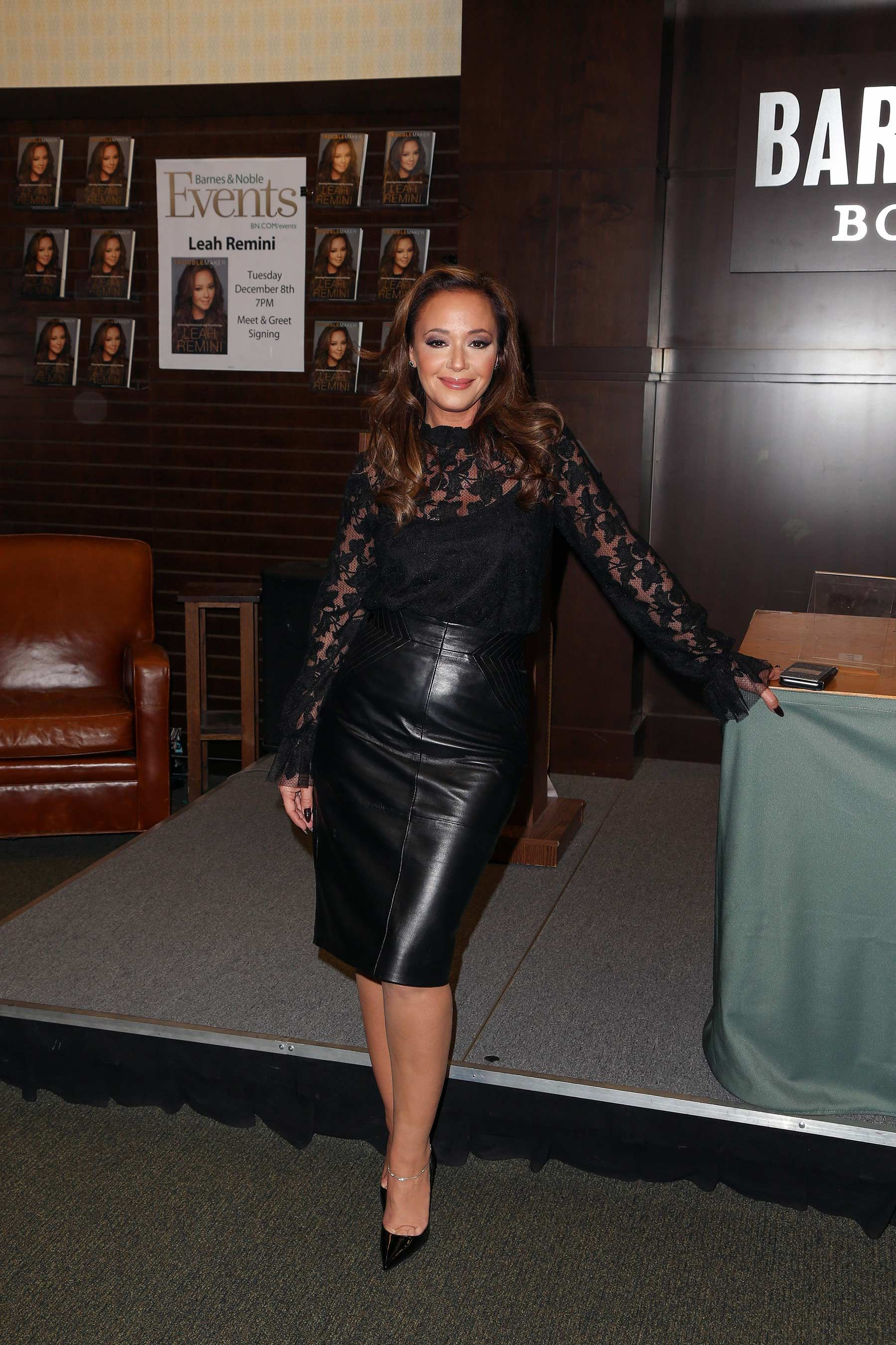 Leah Remini Signs Copies Of Her New Book Troublemaker Surviving