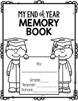 FREE End of Year Memory Book, Free End of Year Activity