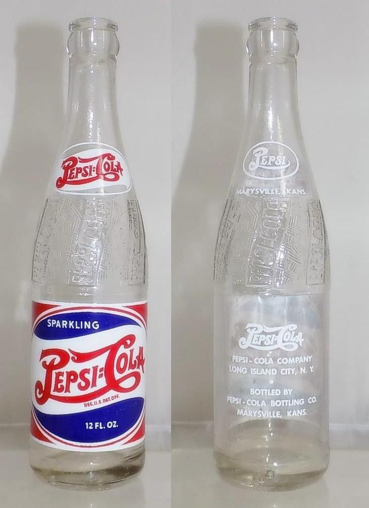 Pepsi bottle code