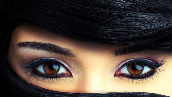 Beautiful Green Eyes In Close Up For Girl Wallpaper Beautiful