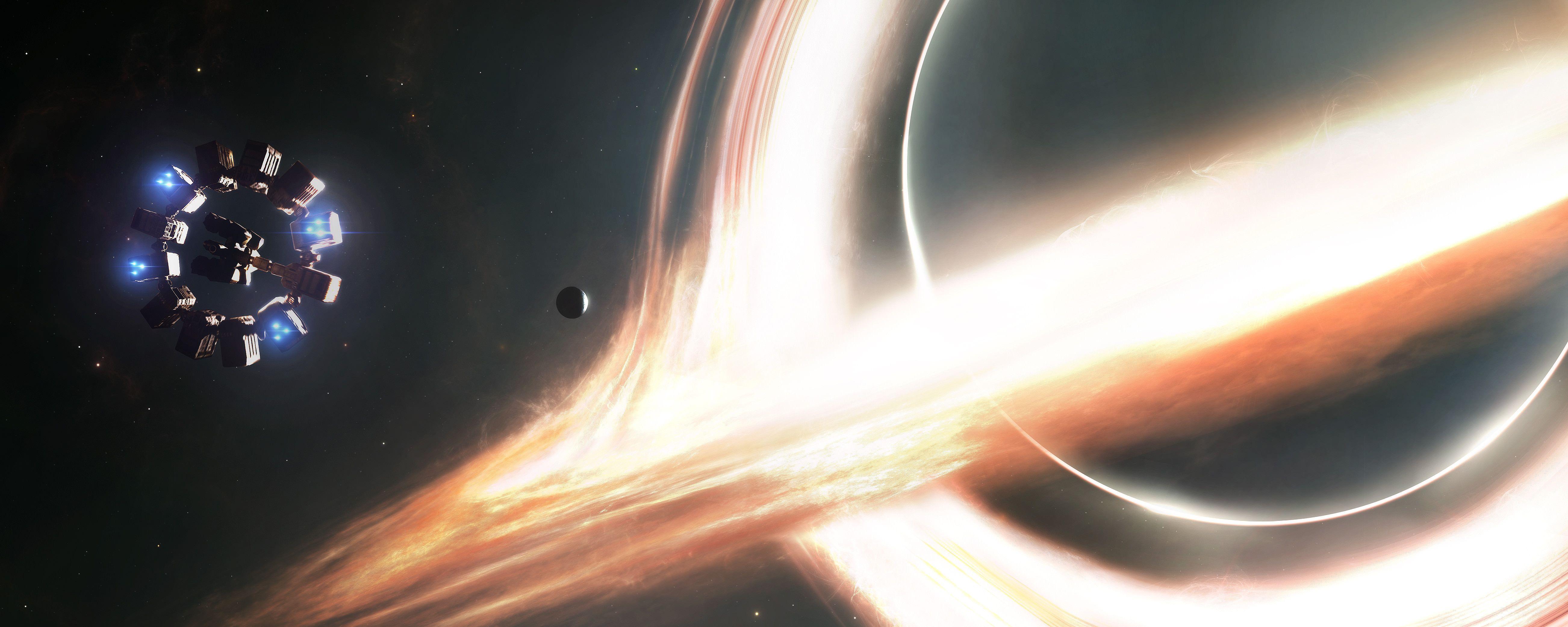 Gargantua Interstellar 5208x2083 Interestelar